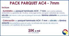 Oferta parquet AC4