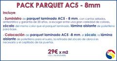 Oferta parquet AC5