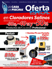 OFERTAS EN CLORADORES SALINOS