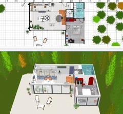 Plano 3D Proyecto Decoración