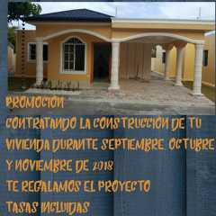 PROMOCIÓN DE CONSTRUCCIÓN