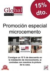 Promoción especial microcemento.