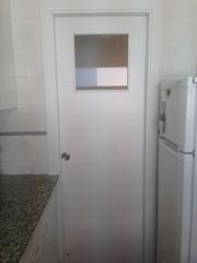 Puerta lacadas en blanco