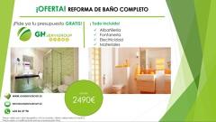 REFORMA DE BAÑO COMPLETA DESDE 2490€ TODO INCLUIDO!!!!