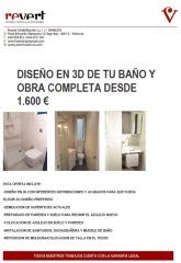 Reforma tu Baño desde 1600 euros
