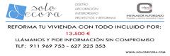 REFORMA TU VIVIENDA CON TODO INCLUIDO POR 13.500 €