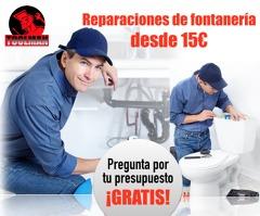 Reparaciones de Fontanería desde 15€