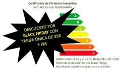 TARIFA ÚNICA POR BLACK FRIDAY
