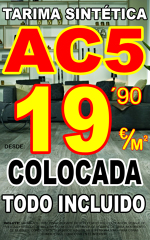 Tarima AC5 colocada