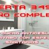 Oferta baño completo 3490€...nos ajustamos a sus necesidades