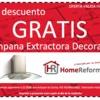 Oferta de campara extractora decorativa gratis