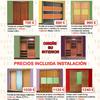 Oferta de armarios desde 750 € + iva