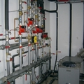 Calefacción y agua caliente en un colegio