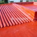 Tejado y terraza con filtraciones de agua