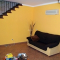 Alisado y pintado de salon con colocación de arco
