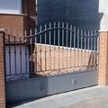 Puertas batientes de hierro