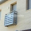 Balcones de hierro y acero inoxidable