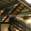 Escaleras de hierro