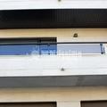 Balcón de aluminio y cristal