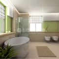 Baño y Aseo Moderno