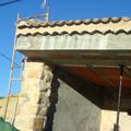 2008 Construccion de vivienda detalle de tejado alero