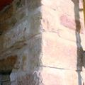 2008 Pedraza -Detalle de construccion de piedra Entrada casa y esquina porche