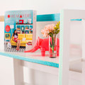 mueble hecho con washi tape