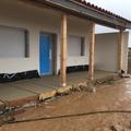 Acabado planche terraza hormigón celular