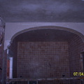 arco de pladur de separacion de cocina a salon
