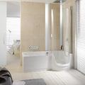 bañera con puerta