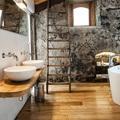 baño compartido lavabos