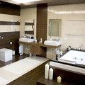 Baño decorado