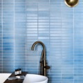 Baño en azul Niágara