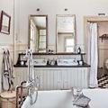 Baño vintage elegante