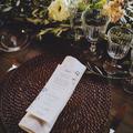 banquete boda en el campo
