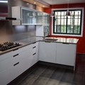 Barra de cocina fregadero