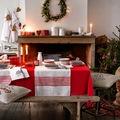 salón decorado para la navidad