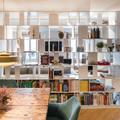 biblioteca salon-comedor