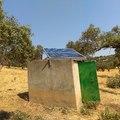 Bombeo solar a depósito