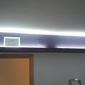 Cajón pladur luz indirecta pintado