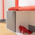 Calzador del pasillo-vestidor