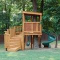 casa árbol para niños pequeños