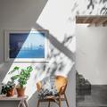 Casa con materiales puros