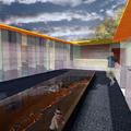 Casa M+_Patio en Planta Primera