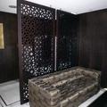 Celosía separador de ambiente. Hotel Meliá Barcelona