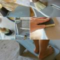 cómo aplicar el chalk paint