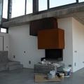 Chimenea diseño salón