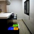 Cocina con electrodomésticos integrados