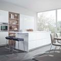 Cocina con muebles lacados