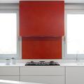 cocina con paredes de colores